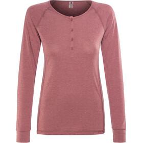Black Diamond Attitude - T-shirt manches longues Femme - rouge